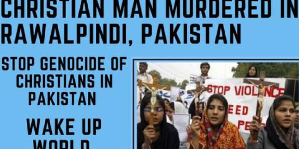 Christian Man Murdered in Rawalpindi